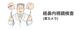 経鼻内視鏡検査(胃カメラ)